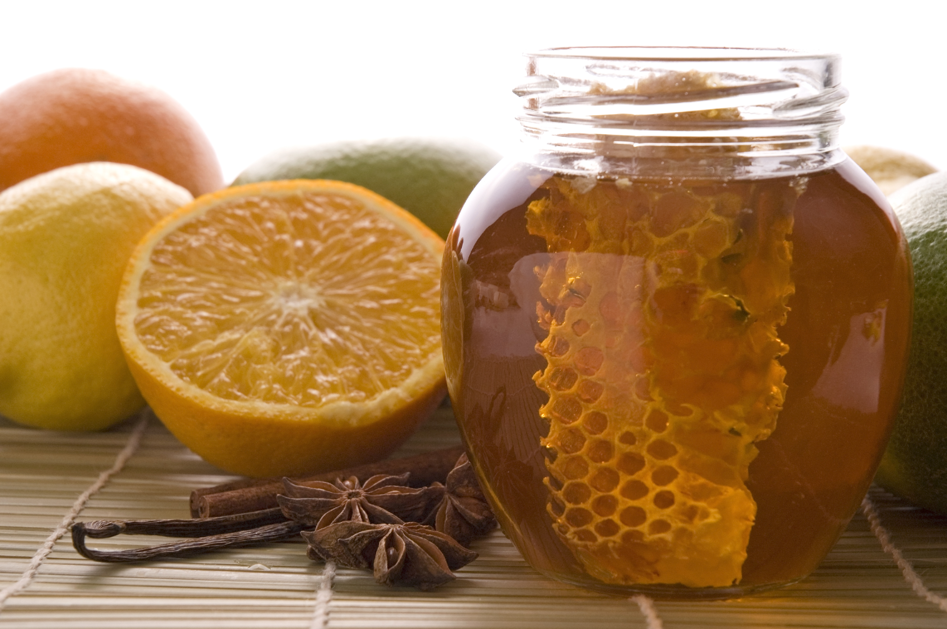http://www.dreamstime.com/fresh-honey-with-honeycomb-spices-and-fruits-imagefree3715177